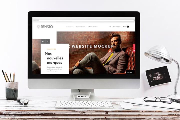 Site de vente en ligne renato